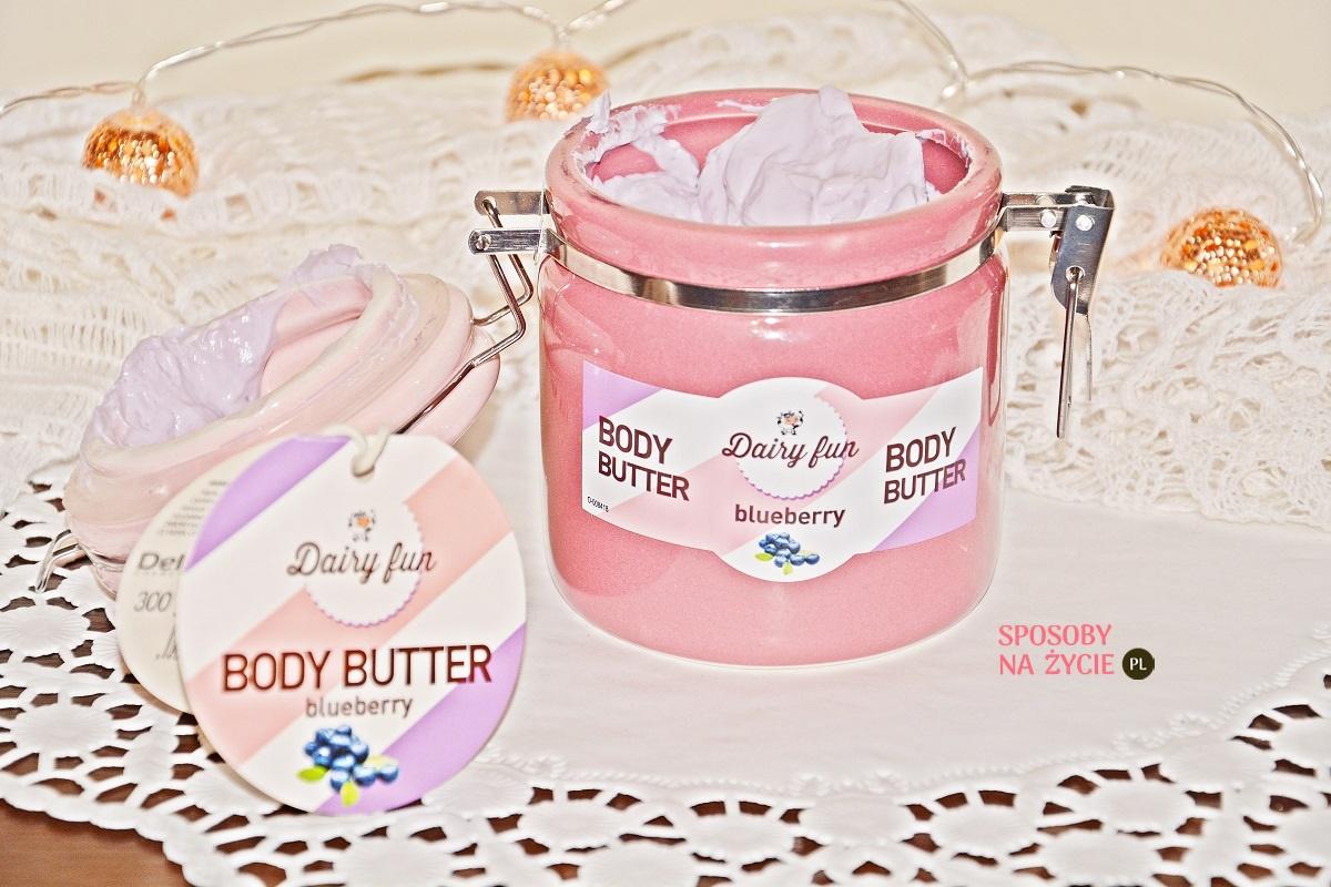 jagodowe masło do ciała Dairy Fun Delia