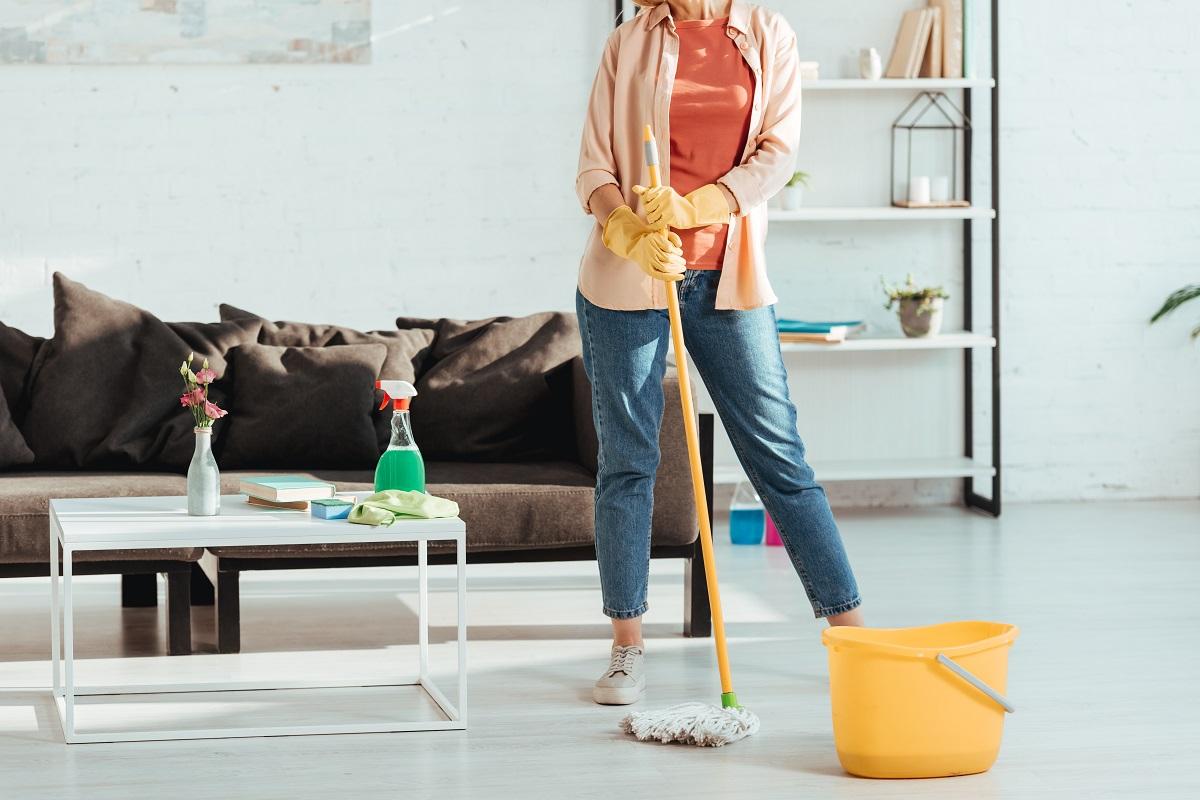 iosenne sprzątanie domu krok po kroku