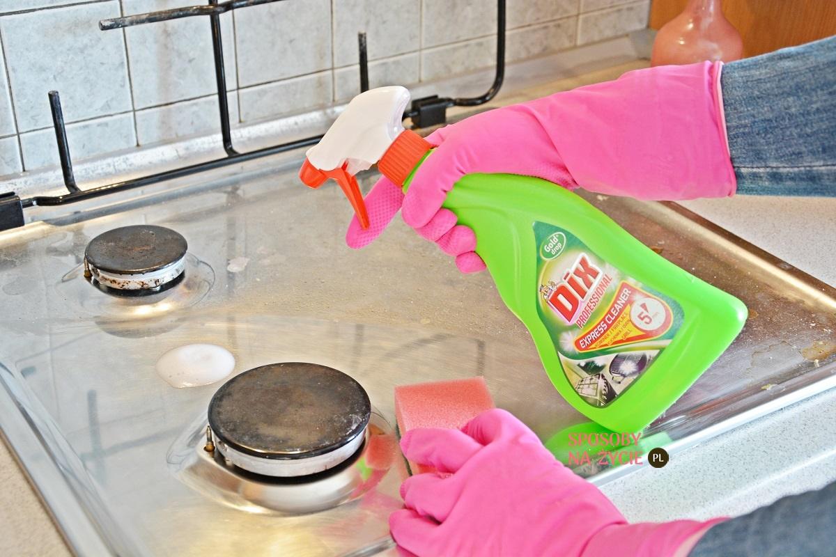 preparat do czyszczenia kuchenka, kominek, grill od Dix Professional