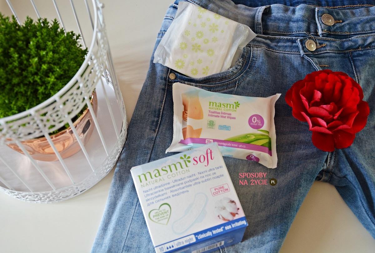 Recenzja podpasek i chusteczek do higieny intymnej Masmi