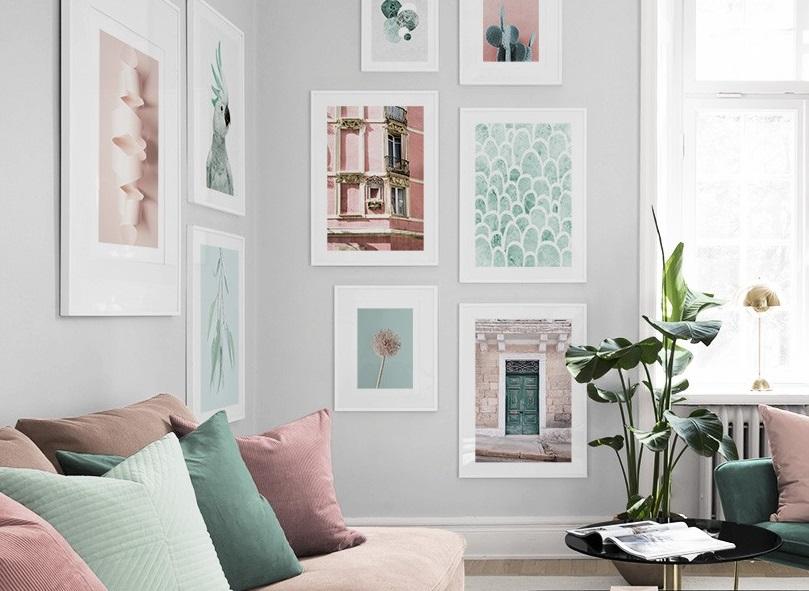 Trendy w aranżacji wnętrz – plakaty jako element dekoracji