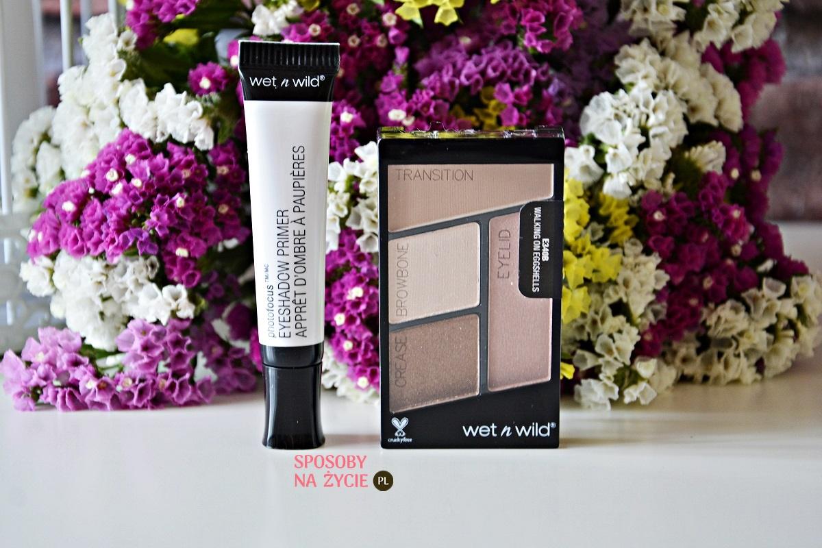 Makijaż oczu kosmetykami amerykańskiej marki Wet n Wild