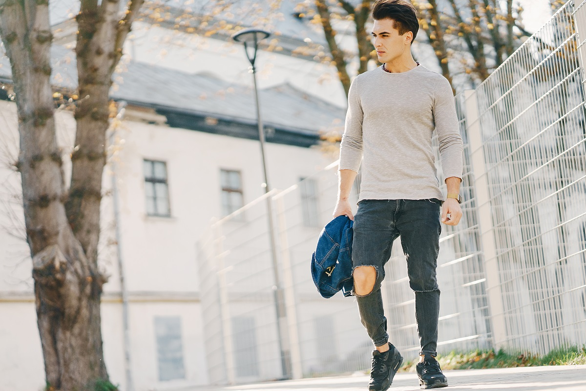 modne męskie jeansy blog sposobynazycie