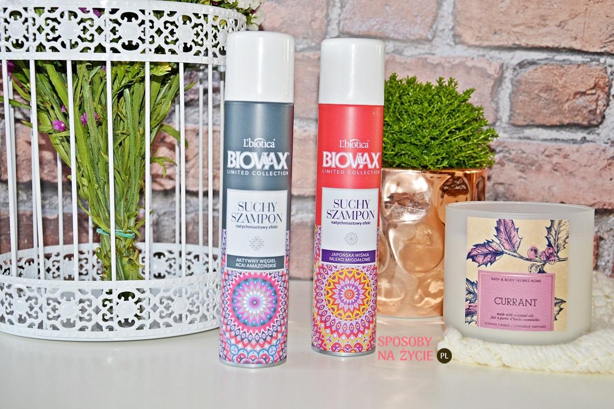 Suche szampony do włosów Biovax L'Biotica