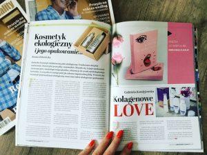 W czerwcu 2019 mój artykuł pt. Kosmetyk ekologiczny i jego opakowanie opublikowano w drukowanym magazynie Law Business Quality.