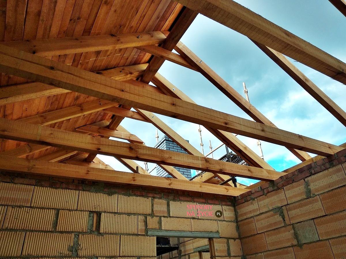 budowa domu dach i ściany wewnętrzne blog sposobynazycie.pl