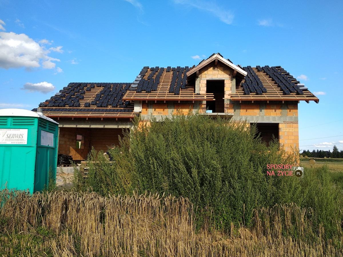 budowa domu - dach, dachówka - blog sposobynazycie.pl