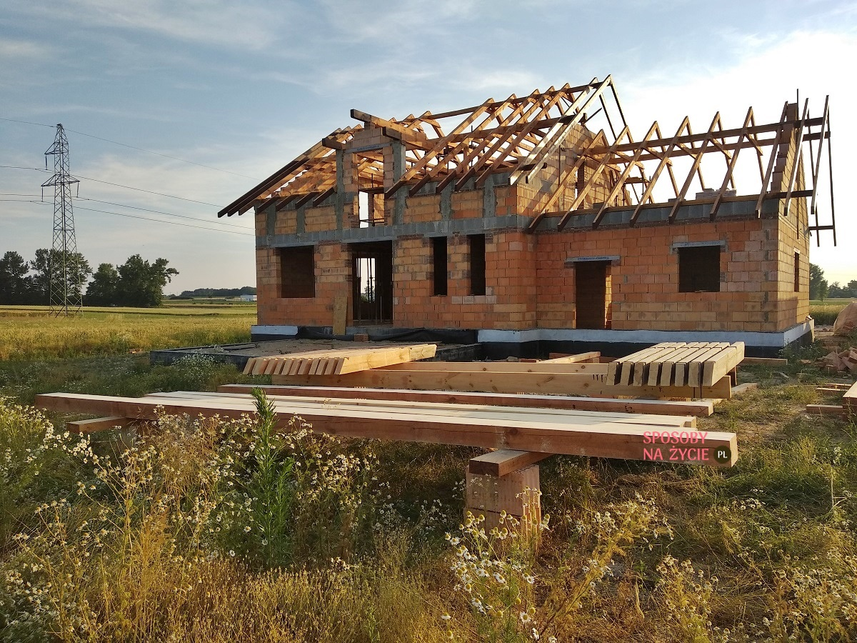budowa dachu więźba dachowa blog sposobynazycie.pl