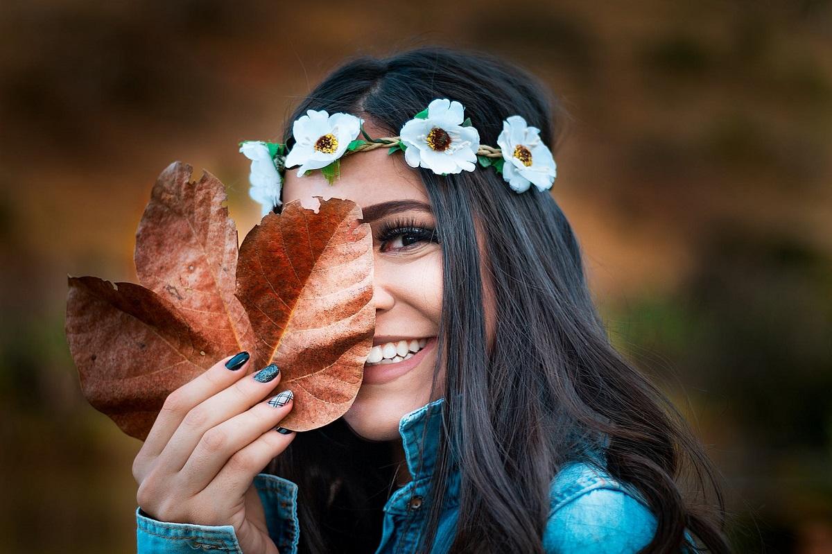 jesienny spacer zdjęcia
