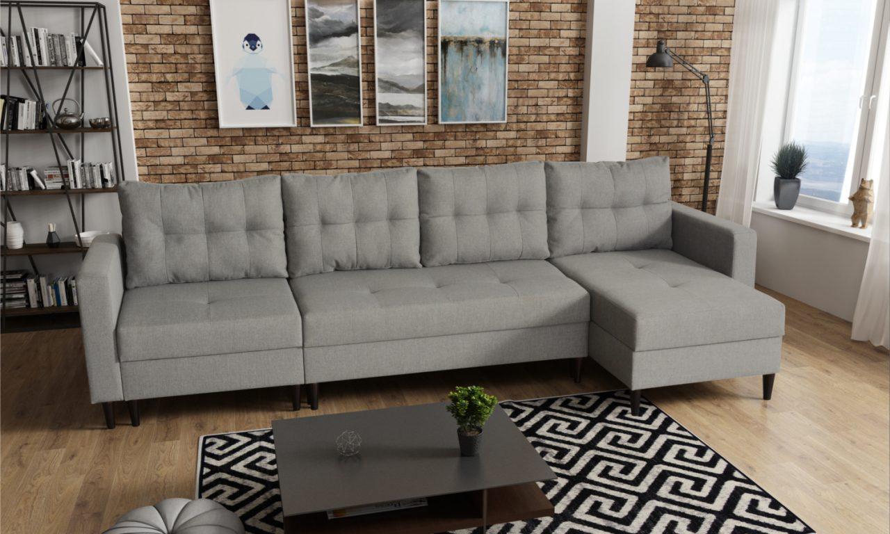 elegancka i stylowa kanapa do salonu
