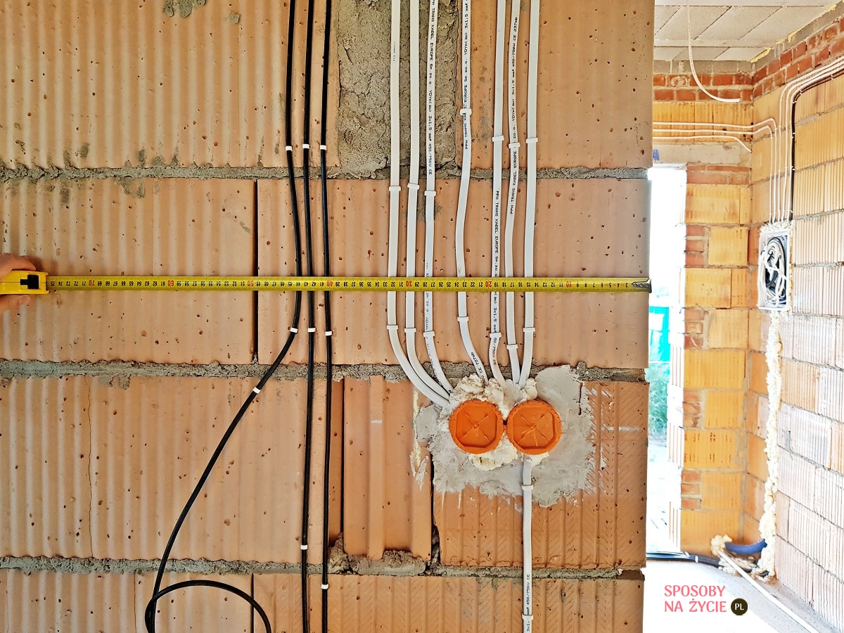 Instalacja elektryczna hol i salon blog o budowie domu