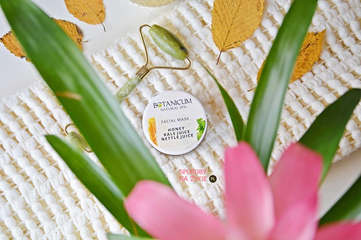 Maska do twarzy Ochrona i Dotlenienie marki Botanicum - moja opinia