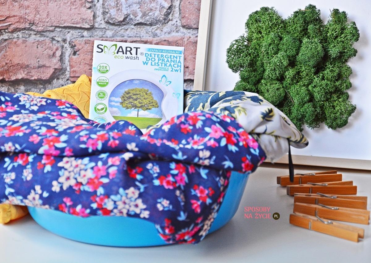 detergent do prania w listkach Smart Eco Wash opinia blog SposobyNaZycie.pl