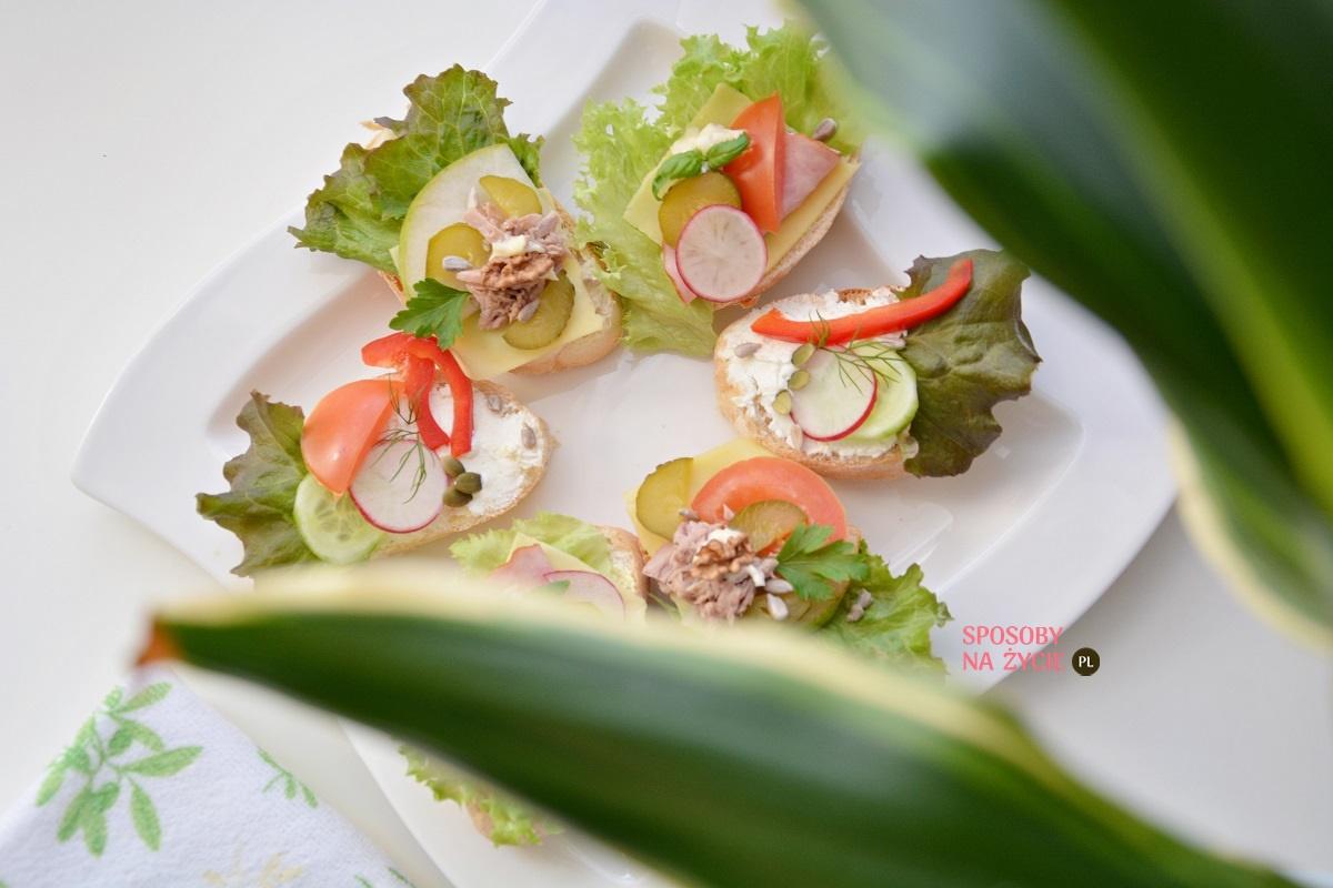 koktajlowe kanapki bankietowe blog kulinarny sposobynazycie