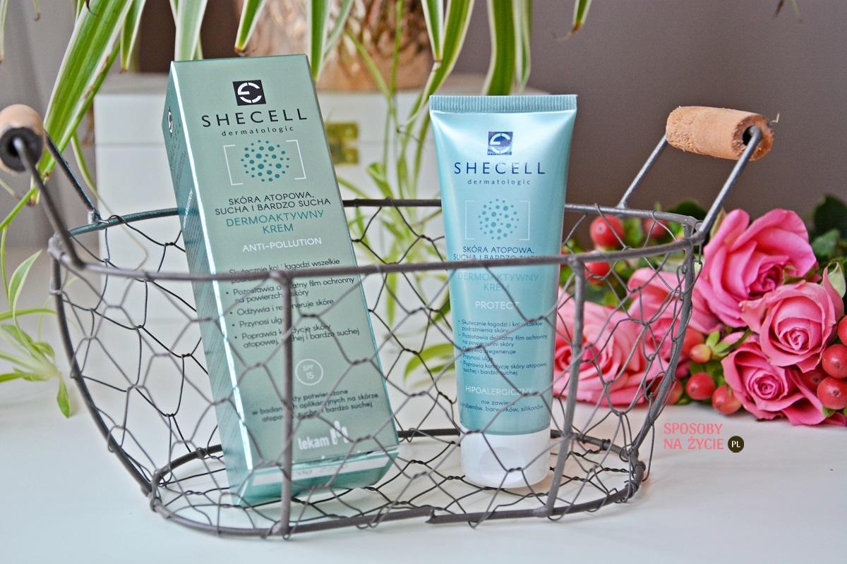 Dermoaktywny krem do skóry atopowej, suchej i bardzo suchej Anti-Pollution Dermatologic Protect Shecell – moja opinia