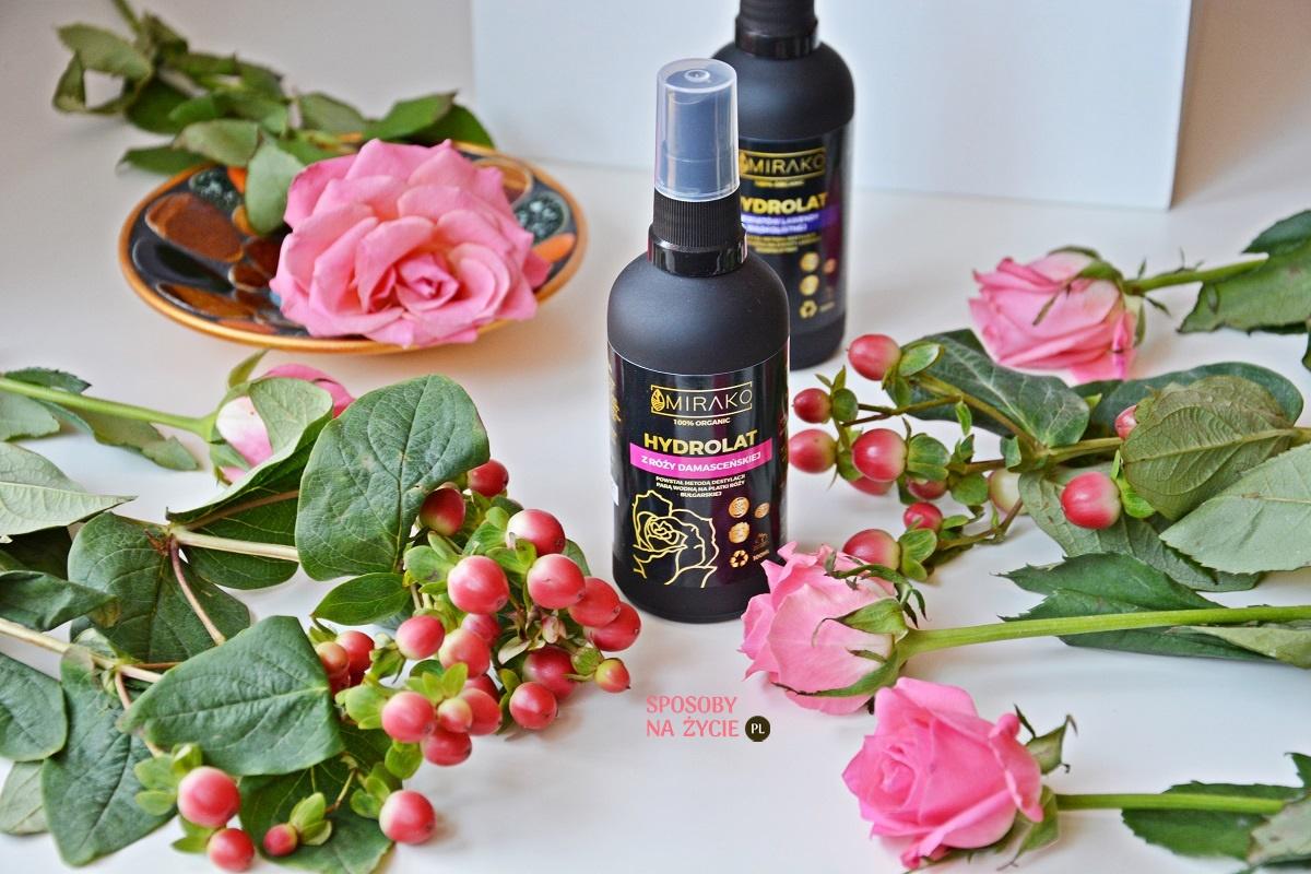 hydrolat różany Mirako recenzja opinia blog kosmetyczny sposobynazycie