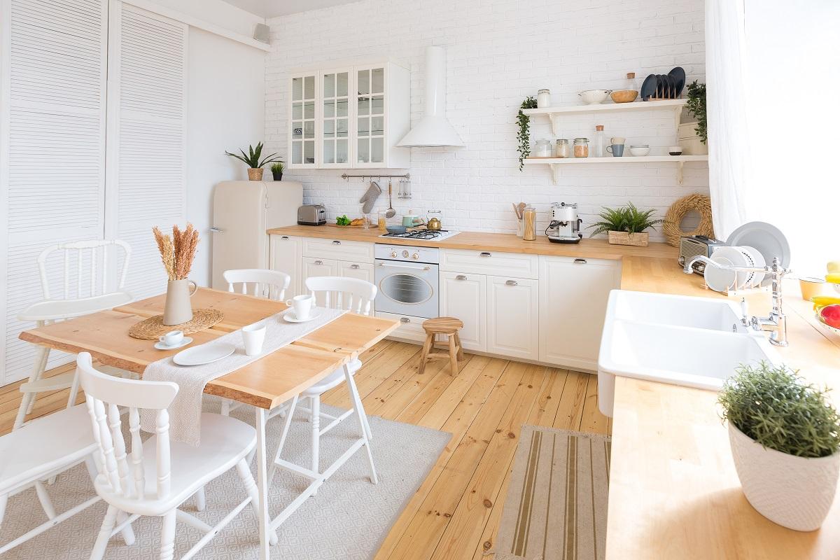 jak urządzić stylową i funkcjonalną kuchnię w nowym domu?