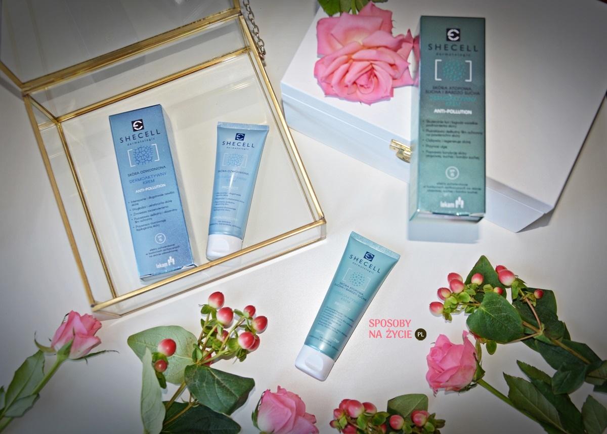 Sucha, odwodniona i bardzo sucha skóra twarzy? Sięgnij po kremy do twarzy Anti-Pollution Dermatologic Protect Shecell