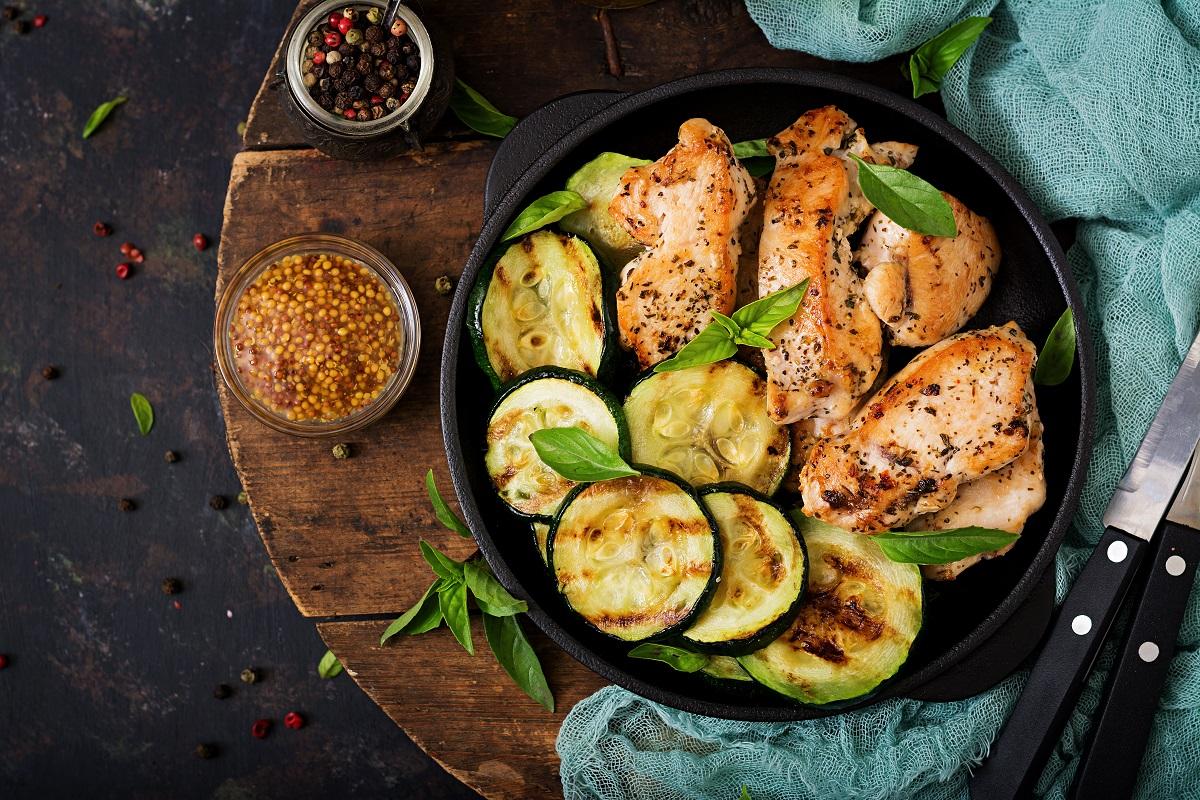 Przepis na grillowany filet z kurczaka