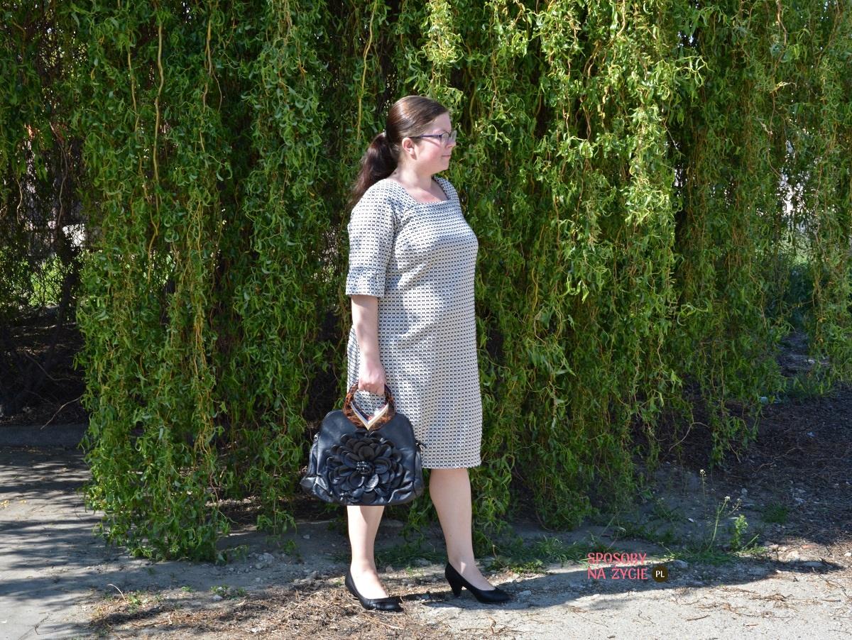 sukienka ciążowa Marble Stella marki Danica Maternity