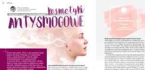 Mój artykuł pt. Kosmetyki antysmogowe - niezbędnik w sezonie jesienno-zimowym w magazynie Rodzina Zdrowia 19 grudzień 2019 - luty 2020