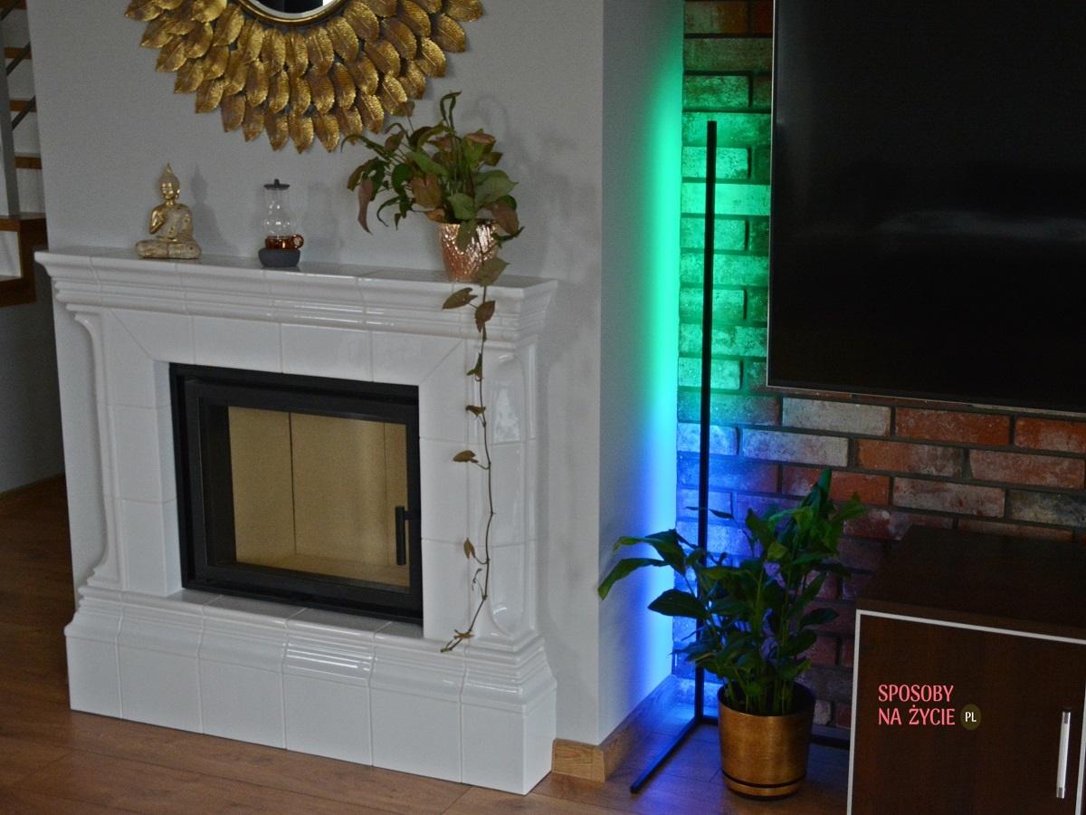 Lampa narożna Edge LED RGB Aurelis blog sposobynazycie.pl