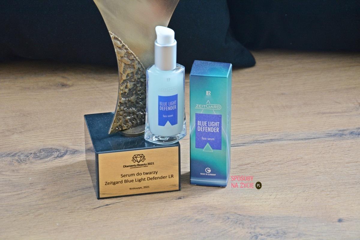 Serum do twarzy ZG Blue Light Defender LR nagrodzone Diamentem Beauty 2021