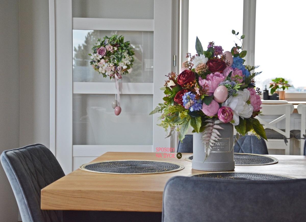 Trendy w ozdobach wielkanocnych 2021 i moje dekoracje na Wielkanoc blog o dekorowaniu wnętrz