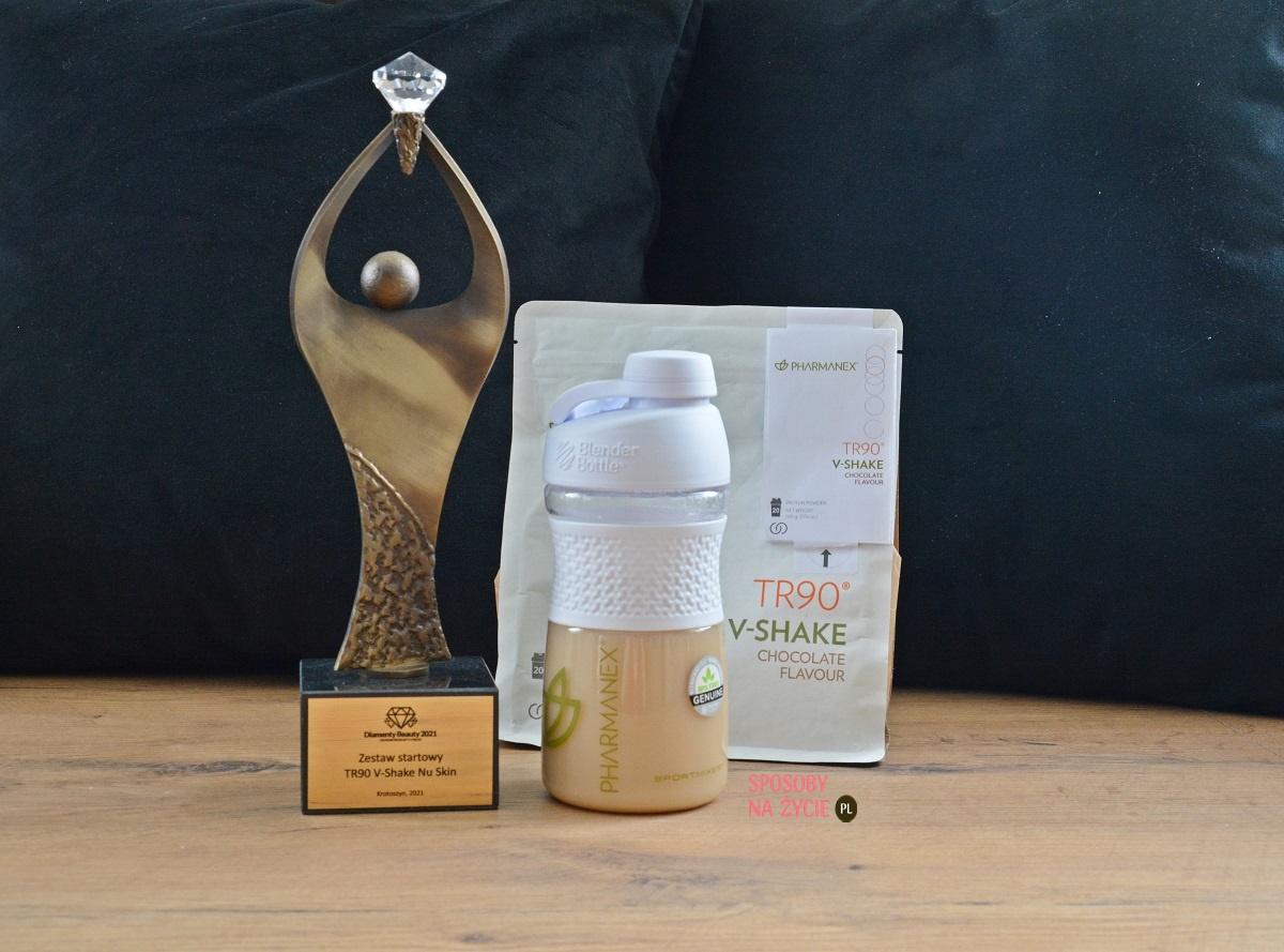 Zestaw startowy TR90 V-Shake Nu Skin nagrodzony Diamentem Beauty 2021