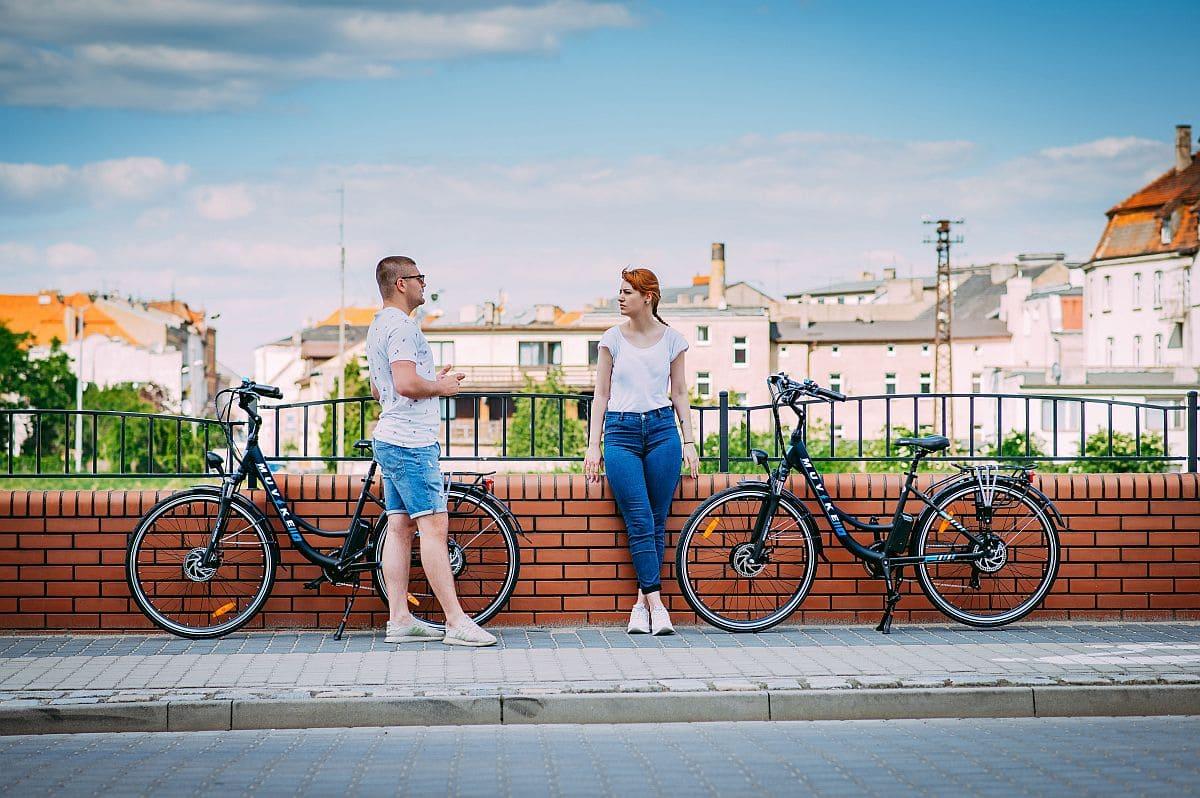 rower do pracy i jazdy po mieście