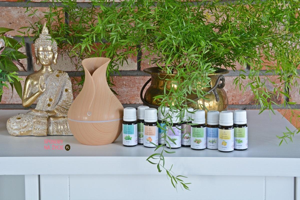 Zalety stosowania dyfuzora i olejków aromaterapeutycznych